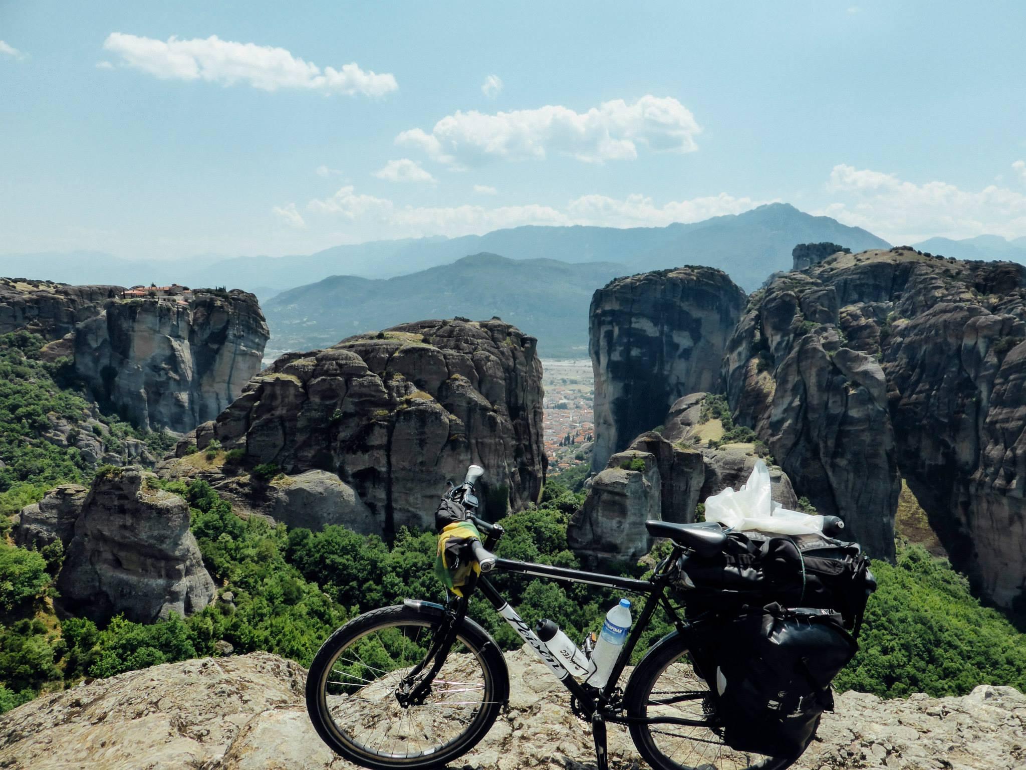 bikepacking natuur