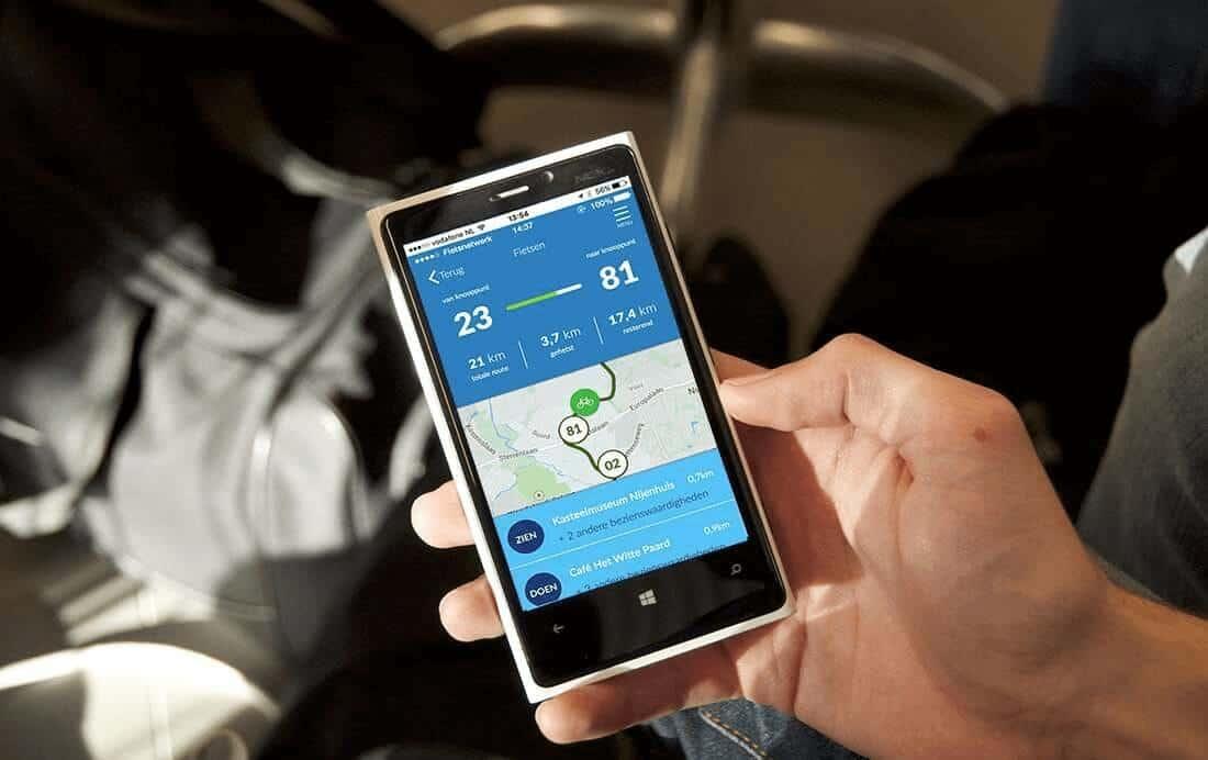 De 5 handigste fiets apps op een rij